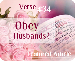 The Myth that Women have to Obey their Husbands