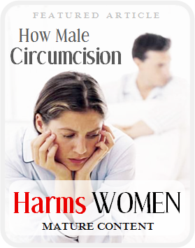 How Male Circumcision Harms Women