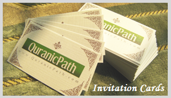 QuranicPath Invitation Cards